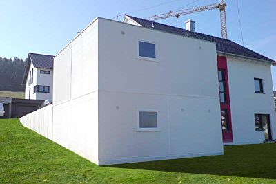 Doppelstock-Garage - Großraumgarage unten