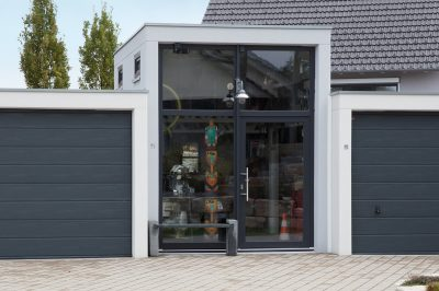 Großraumgarage als Werkstatt genutzt