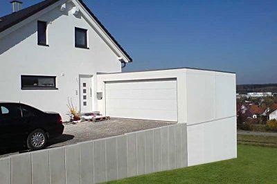 Doppelstock-Garage - Maxi-Garage oben